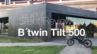 Review bici eléctrica Decathlon B'twin tilt 500