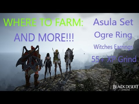 Black Desert Xbox Guide: Ogre Ring, Witch Earings, Asula Set and MORE!!