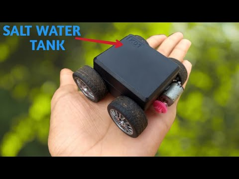 How to make a salt water powered car!| Free energy|