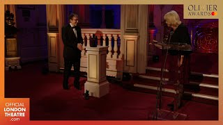 HRH The Duchess of Cornwall presents Don Black with a Special Award | Olivier Awards 2020