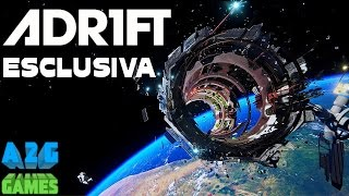 ADR1FT - ESCLUSIVA! Gioco VR Oculus RIFT HTC VIVE Gravity Videogioco - Gameplay ITA Let's Play 60fps