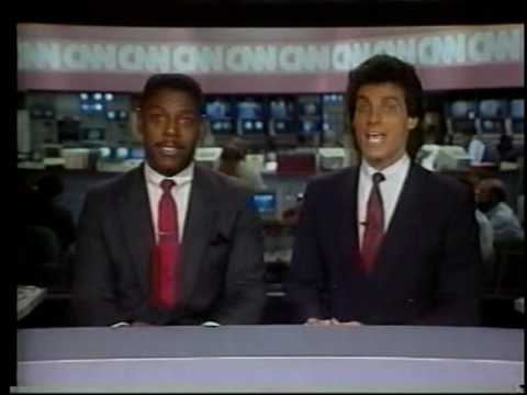 CNN Sports Promo Blooper with Nick Charles and Fred Hickman 1980