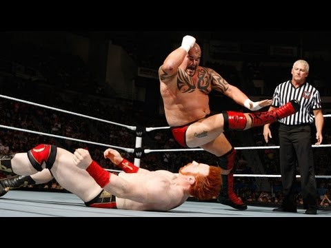 Sheamus Vs. Tensai: Raw, June 11, 2012