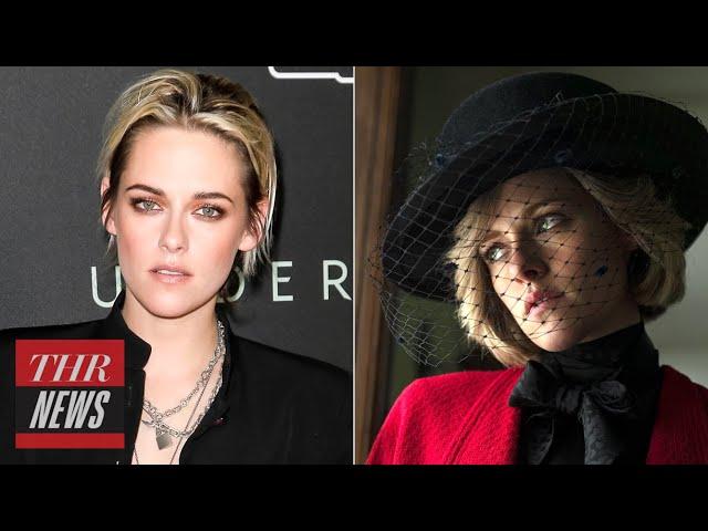 First Look at Kristen Stewart as Princess Diana in 'Spencer' | THR News