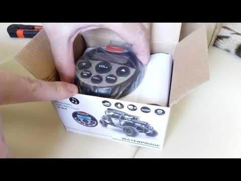 Открыл посылку с Али: морская магнитола с USB / Marine Radio USB, MP3 N-804 WATERPROOF