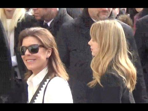 Princesse Caroline de Monaco & Alexandra @ Paris 8 mars 2016 Fashion Week défilé Chanel