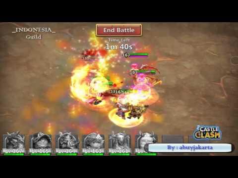 Castle Clash - Boss 4 Strategy
