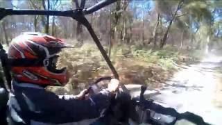 Quad Bike & ATV hit the trail through Freycinet NP, Tasmania, Australia
