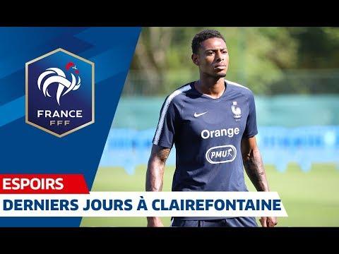 Les Espoirs se préparent à affronter la Belgique I FFF 2019