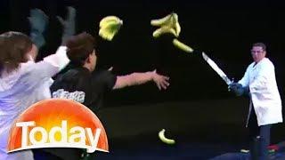Real life Fruit Ninja | TODAY Show Australia