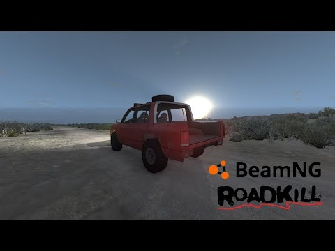 BeamNG. Drive: RoadKill: Ep 31: Junk Pre Runner SUV!