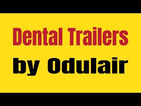 Mobile Dental Clinic: Mobile Dental Trailer By Odulair