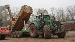 Tractors on construction sides - Visiting Maaßen contracting