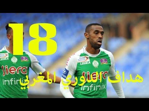 893638961 جميع أهداف محسن ياجور هداف الدوري المغربي ونادي الرجاء 2019 mouhcine iajour
