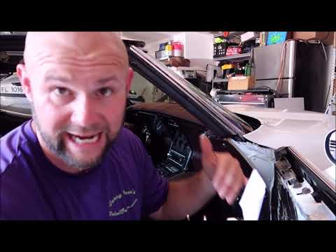 C3 CHEVY CORVETTE HOW TO REPLACE AND FIX THE POWER DOOR LOCKS