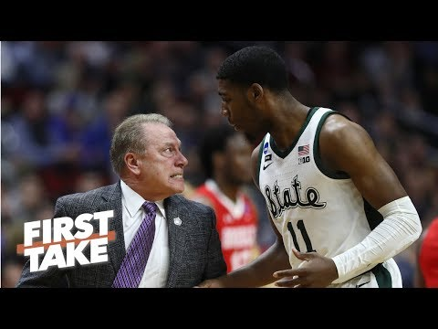 Michigan State coach Tom Izzo yelling at Aaron Henry is a non-issue - Stephen A. | First Take