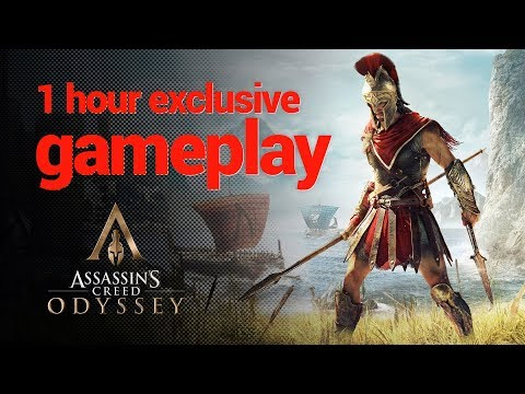 ASSASSIN'S CREED ODYSSEY - 1 hour EXCLUSIVE gameplay (E3 2018)