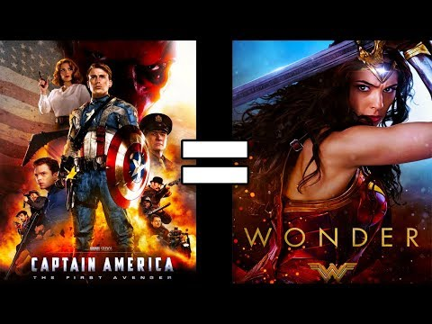 24 Reasons Captain America The First Avenger & Wonder Woman Are The Same Movie