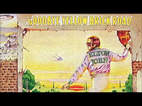 Elton John-goodbye yellow brick road-Original HQ