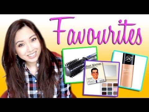 Favourites! Makeup, hair & fashion