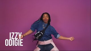 Eggplant Afrobeat Dance Routine TUTORIAL With Izzy Odigie - Eggplant Challenge Choreography