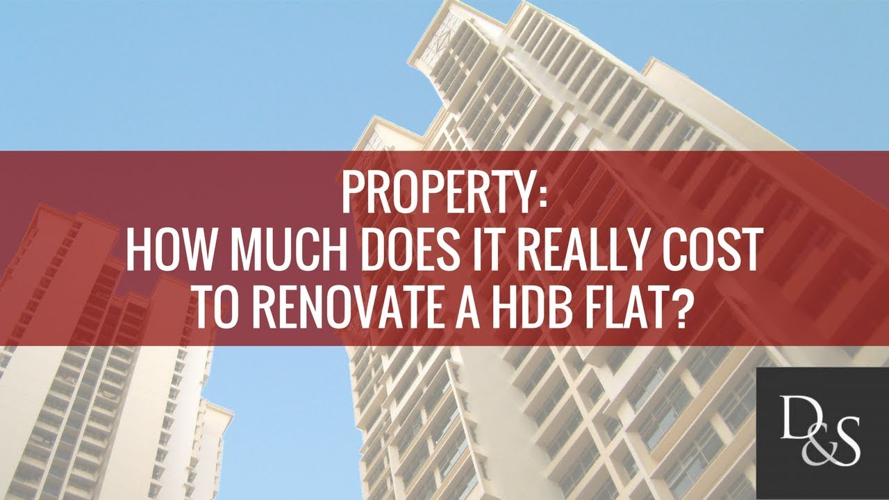 lifestyle finance how much does it really cost to renovate a hdb flat
