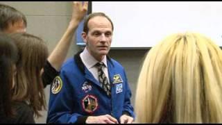 NASA Astronaut Steven Smith Visits the U.S. Mission