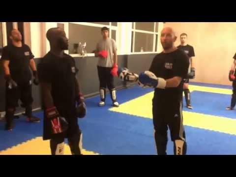Sparring To Build Your Confidence -Ricky Manetta -MMA Krav Maga