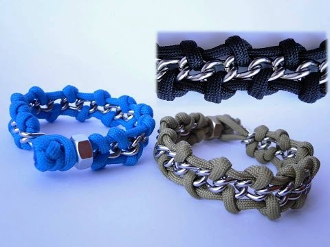 How To Make A Chain And Hex Nut Paracord Survival