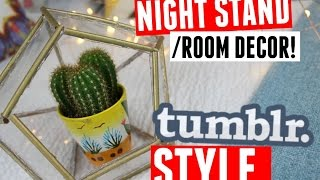 Diy Tumblr Night Stand Room Decor!