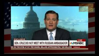Ted Cruz Calls Democrat Accusations Against Jeff Sessions a