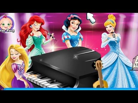 Принцессы Игры с принцессами Диснея Одеваем принцесс