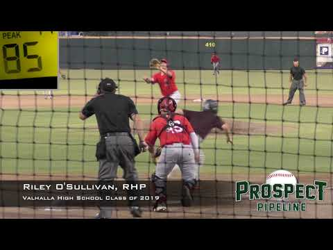 Riley O' Sullivan Prospect Video, RHP, Valhalla High School Class of 2019
