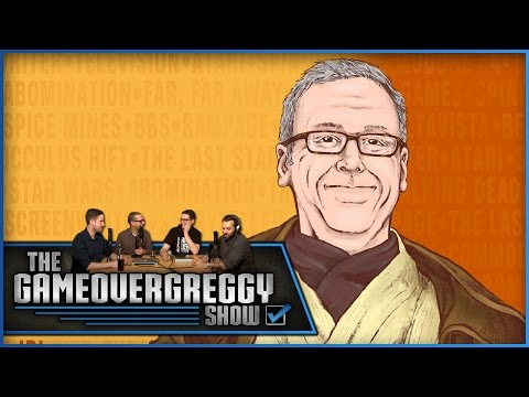 Gary Whitta Returns! Special Guest  The GameOverGreggy  Ep. 87