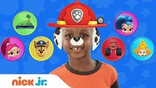 Play Junior Dress Up w/ PAW Patrol, Blaze & Bubble Guppies 🐠 Ep. 1 | Nick Jr.