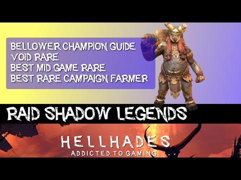 RAID SHADOW LEGENDS | Bellower Champion Guide