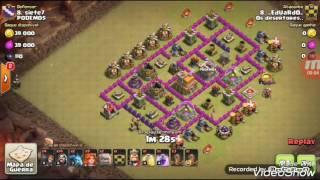 (Clash of Clans)_Peguei um CV7 na guerra hahaha (leia a descrição)