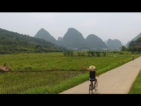 A look into picturesque Yangshuo by bike