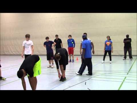 Leverkusen Football Academy Speed Training with Erskine Baker