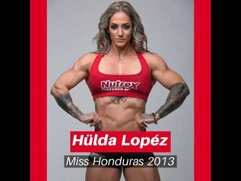 Hulda Lopez (Miss Honduras) Videos and Photos Compilation (FBB/Bodybuilderin/Powerlifterin)