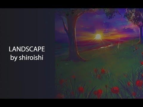Digital Painting : Landscape – shiroishi