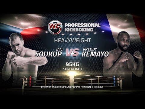 "KNOCKOUT: Jan Soukup vs Freddy Kemayo - W5 Grand Prix ""Legends in Prague"""