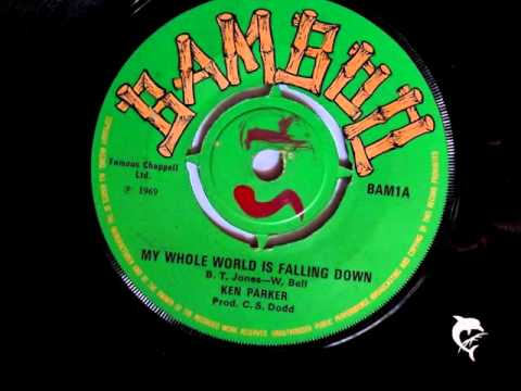 Ken Parker - My Whole World Is Falling Down (1969) Bamboo 1 A