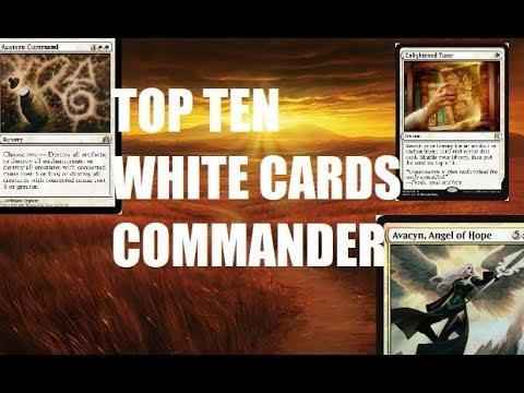 Top Ten MTG: Best White Cards In Commander