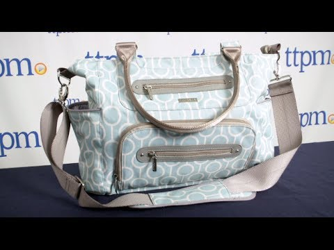 jj cole collections caprice diaper bag from tomy youtube. Black Bedroom Furniture Sets. Home Design Ideas