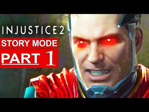 INJUSTICE 2 Story Mode Gameplay Walkthrough Part 1 [Mobile IOS/Android] Chapter 1 - No Commentary