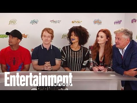 Game Of Thrones: Sophie Turner Explains That Sibling Rivalry | SDCC 2017 | Entertainment Weekly