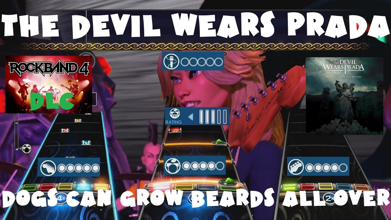 The Devil Wears Prada - Dogs Can Grow Beards All Over - Rock Band 4 DLC Full Band (Sept 20th, 2018)