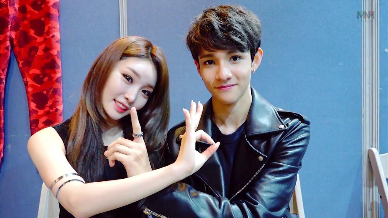 [ENG SUB] Chungha & Samuel 'With U' Waiting Room Interview
