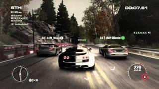 Как не нужно играть на Bugatti Veyron в GRID 2 [FullHD]